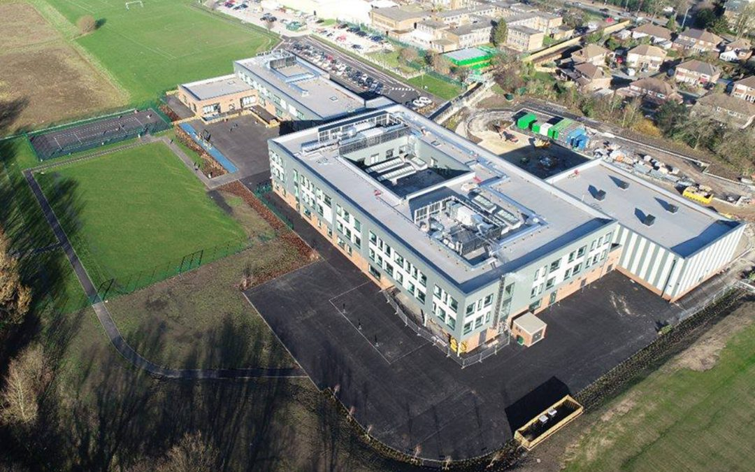 Latest pictures show our main building is almost finished!