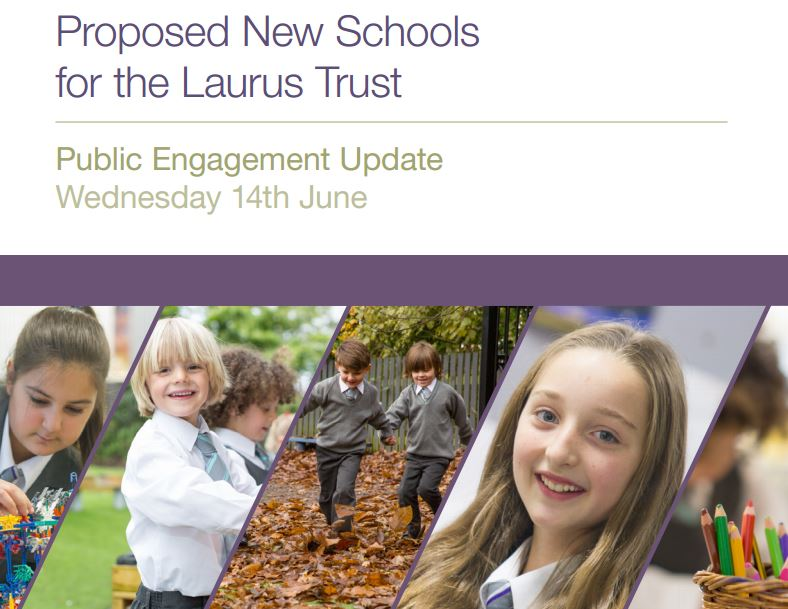 Come to see our school design proposals on 14th June