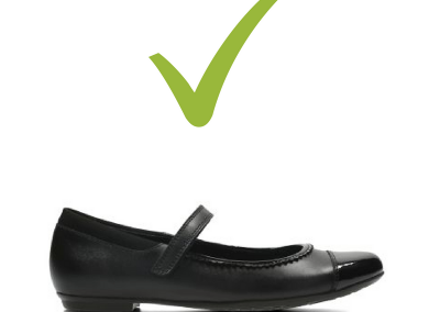 Approved shoe 1