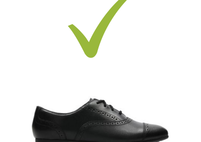 Approved shoe 3