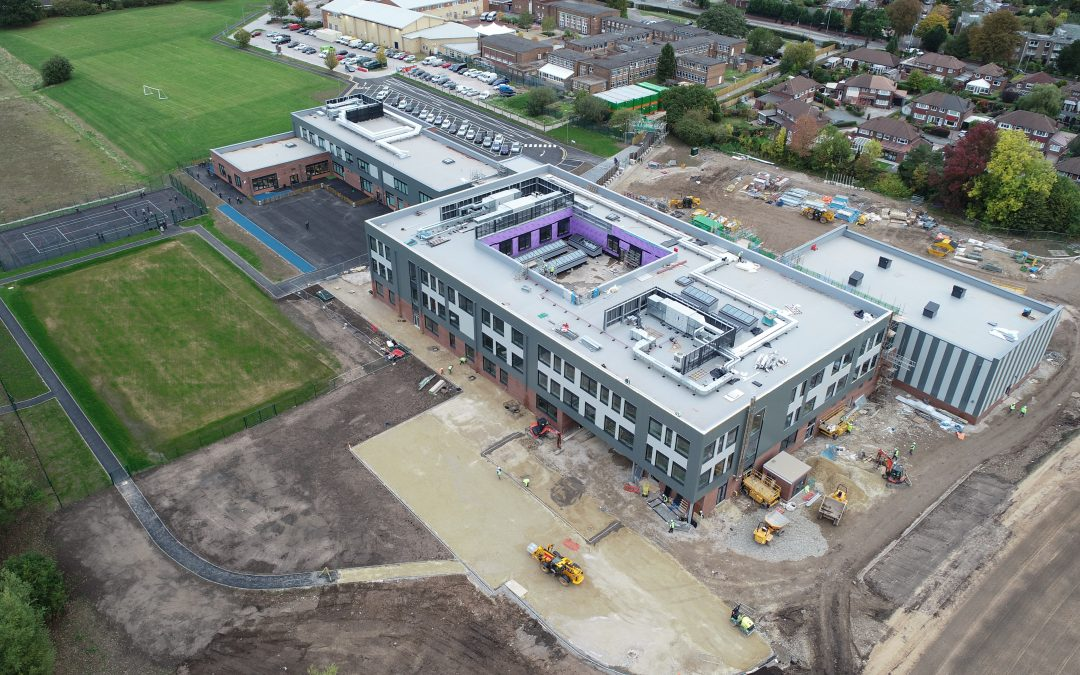 Latest building photos – October 2018