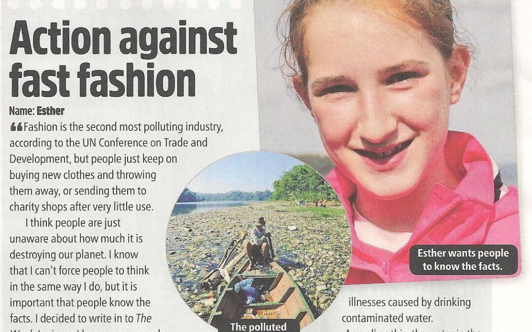 Budding Reporter Writes for The Week