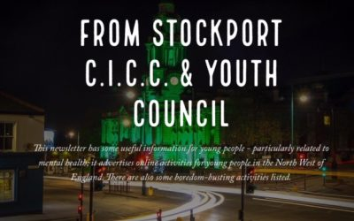 Latest newsletter from Stockport Youth Council