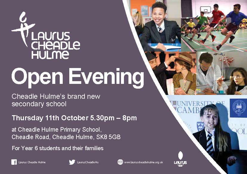 Come to our open events!