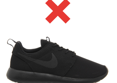 Unapproved shoe 1