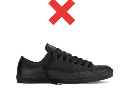 Unapproved shoe 2