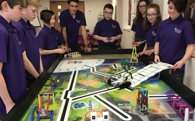Year 8 students finish second in the Lego League competition